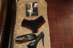Bodystocking: Fiore Shoes: Sam Edelman